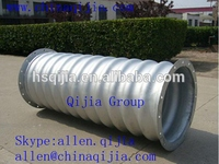 Galvanized corrugated steel pipe special design for water tank,water stream,rice warehouse
