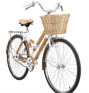 Eco-friendly Bamboo Lady City Road Bicycle