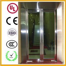 High quality used commercial fire rated double swing glass entry door
