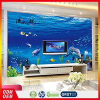 customize living room decoration 3d wallpaper wall murals for baby room