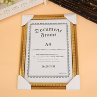 A3 A4 A5 Certificate Frame Special Moments certificate gold Photo Frames