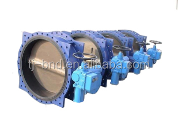 high pressure modulating type electric butterfly valve with positioner