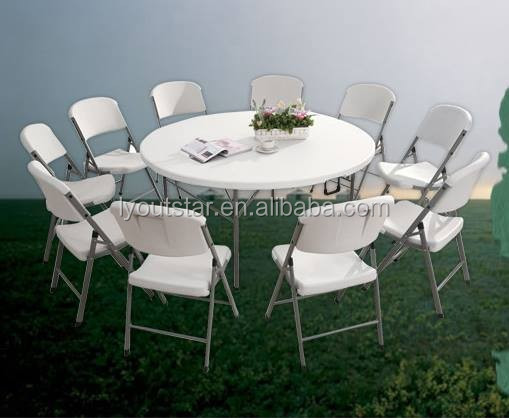 Light Weight Portable Folding Beach Chair Round Table Folding Table