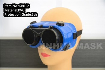 good quality flip design welding goggle