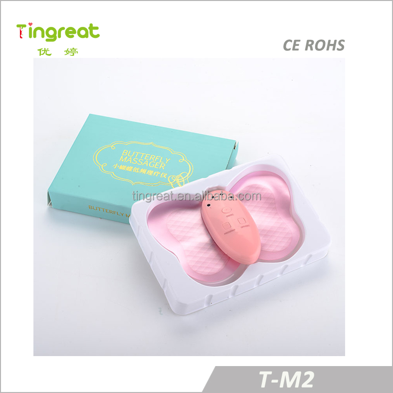 Hot sell butterfly mini massager personal low frequency massager