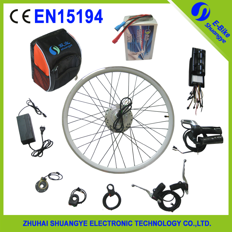 250W DIY Ebike Electric Bicycle Motor Conversion Kit with 24v 10ah battery