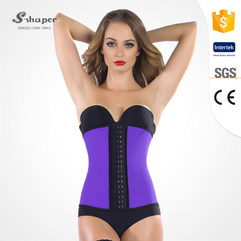 S-SHAPER Colorful Belt Girdle Slimming Body Shaper Corset
