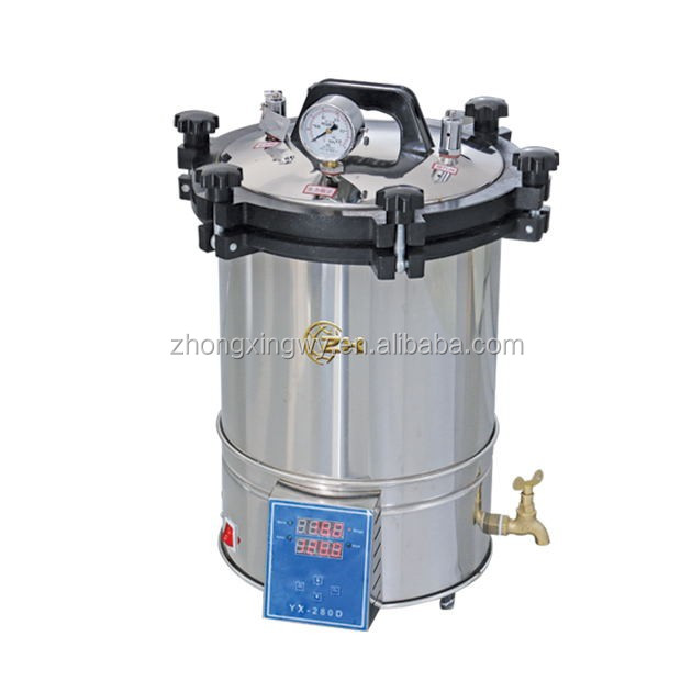32L lab handhold autoclave for sterilizing culture medium