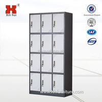12 door colorful steel locker Used Steel Storage Cabinets