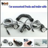 waterproof trailer cable/ 12V 7-Pin European plastic Trailer Cable