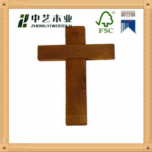 Wholesale chrismas small Olive Wood Carved Cross custom wooden cross