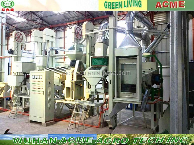Selling low price home use automatic rice mill plant