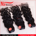Full cuticle Natural Wave virgin raw hair beautiful