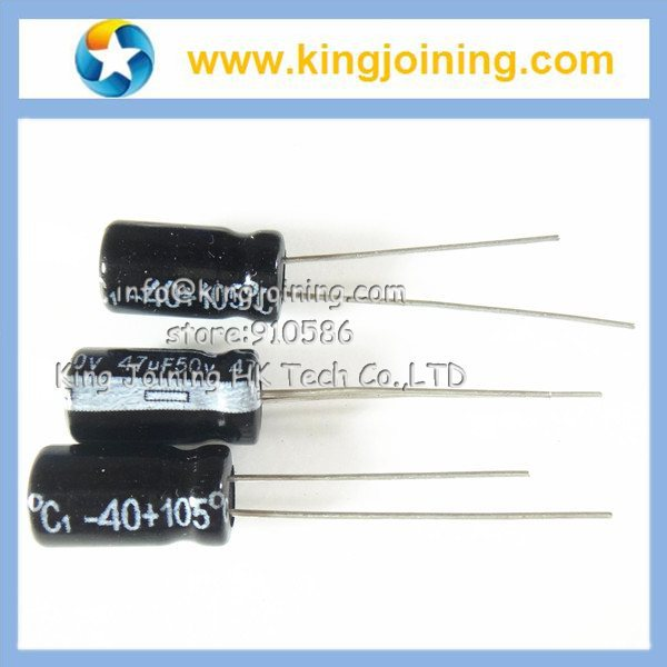 Aluminum Electrolytic capacitor 400V 1UF 1mf 400V 6.3X12mm 105Celsius Radial