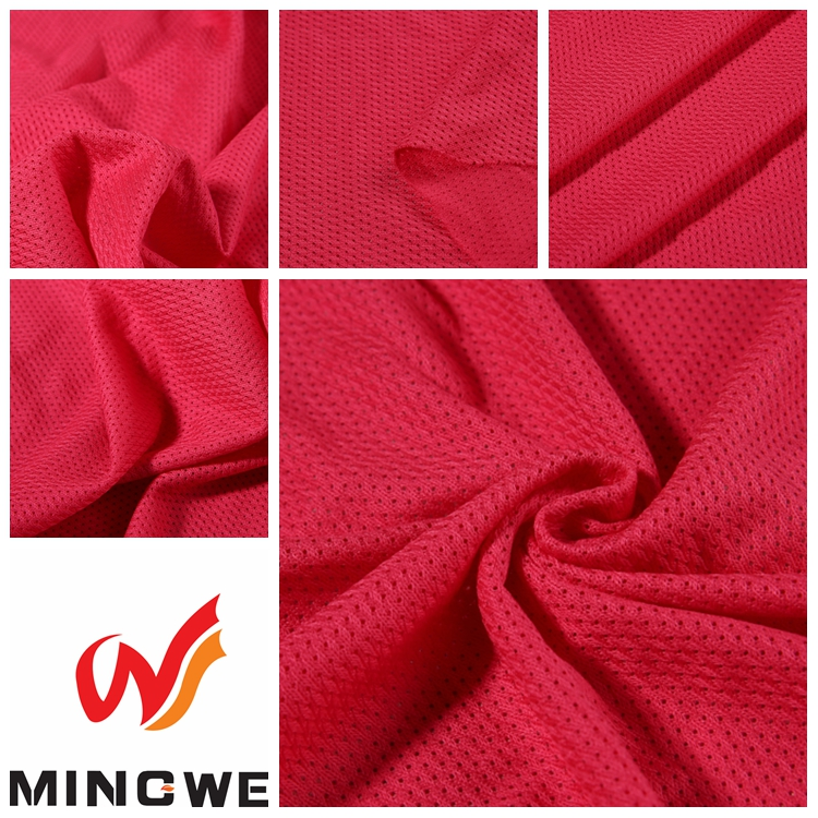 Static,Tear-Resistant,Shrink-Resistant Feature Dry Fit 100% Poly Althletic Mesh Fabric