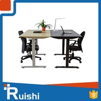 China automatic adjustable lifting or lift desk workstation popular in Ireland