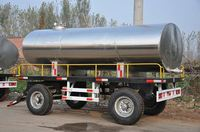 EU aid trailer ! Hot sale New camping trailer flatbed semi trailer with CE