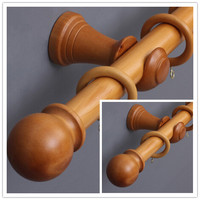 Wooden Curtain Rod