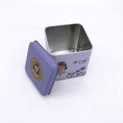 Wholesales Earn Money Tin Can,Earn Money Tin Can,Metal Square Tins