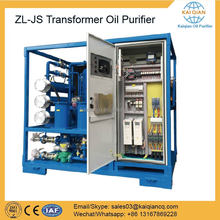 Lube Oil Filtration System Insulating Oil Purification Machine