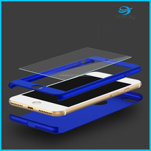 Factory Manufacturer Worldwide Delivery Transparent or Colourful Phone Case for iphone 7/iPhone 6 Case 360 Full Protected
