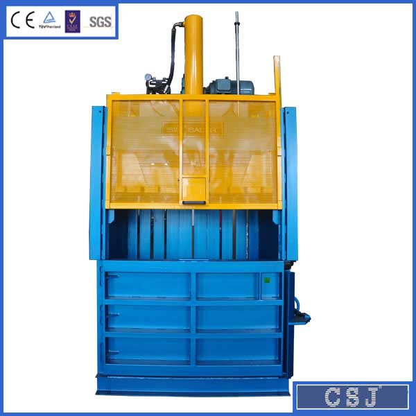 CE,ISO9001 certificated hydraulic waste paper baler for Cardboard compressing