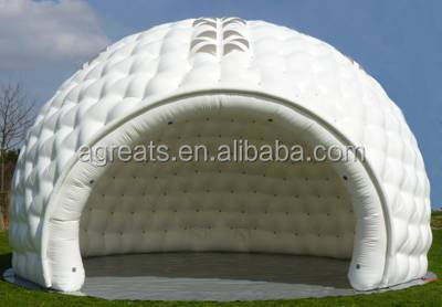 Big white color inflatable igloo tent for sale S1082