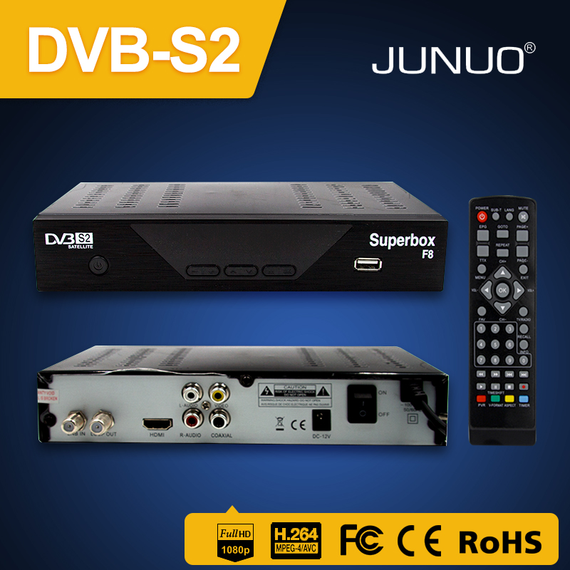 JUNUO new solution set top box New Arrival Original factory price download satellite receiver software