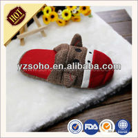 Colorful Cheap and Comfortable Soft Fleece Indoor Slippers