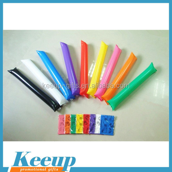promotional inflatable thunder stick balloon cheering stick