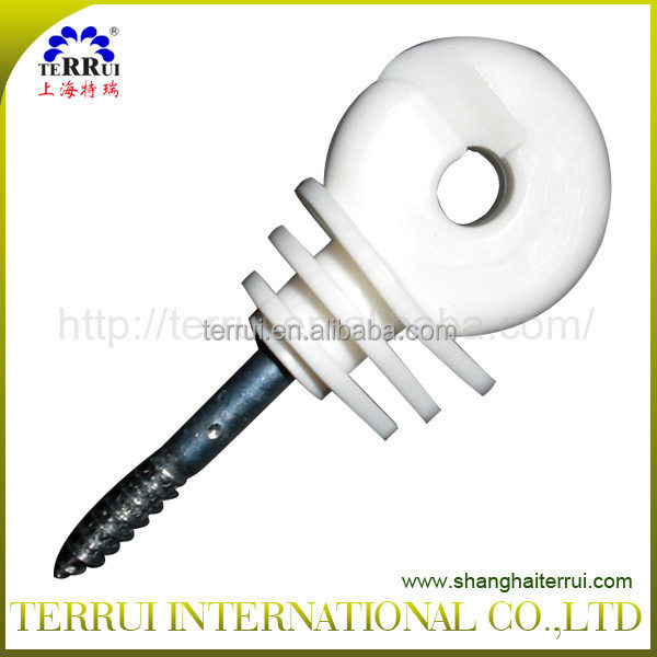 Three pears strong thread ring insulators for fencing
