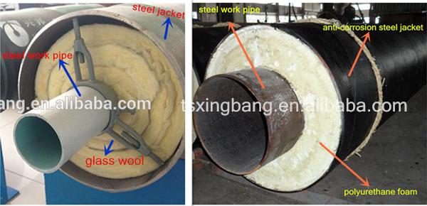 Calcium Silicate Pipe Cover : High temperature boiler steam pipe calcium silicate