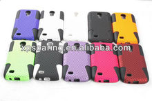 Mesh 2 in 1 case back cover for Samsung Galaxy S4 mini i9190