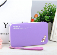 2016 brand design wallet women leather wallet Pidanlu wallet for young Lady