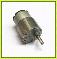 Reversible metal gearbox OD37mm high torque 300rpm 24v dc gear motor