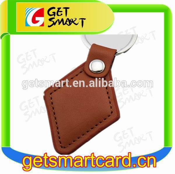 New Products! Quality Leather RFID Key Tag best fashionable access control and identification