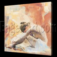Beautiful Abstract painting nude