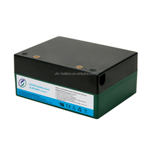 Lithium lifepo4 12V 12Ah 153.6Wh battery with SMBus/RS485/RS232 communication port