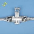 Optical anchor joint tension suspension clamp for opgw adss cable