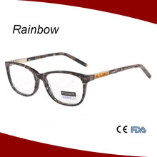 New collection Colorful acetate frame new design eyeglasses eyewear with stone