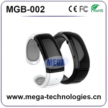 manufacturing factory led bluetooth bracelet with vibration sms and caller id