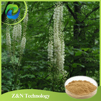 High quality organic black cohosh extract 8% Triterpene Glycosides