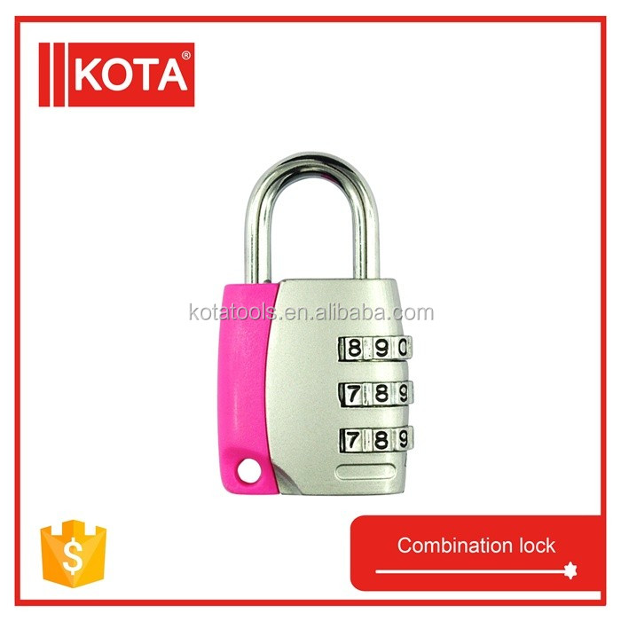 Metal 3 Digit Combination Travel Luggage Suitcase Padlock Combination DigitalLuggage Lock