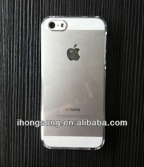 2013 hot new products for apple iphone 5 case plastic cover
