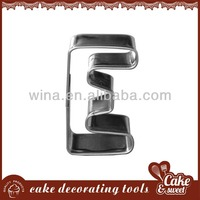 Stainless steel chocolate cutter moldes de silicone de chocolate