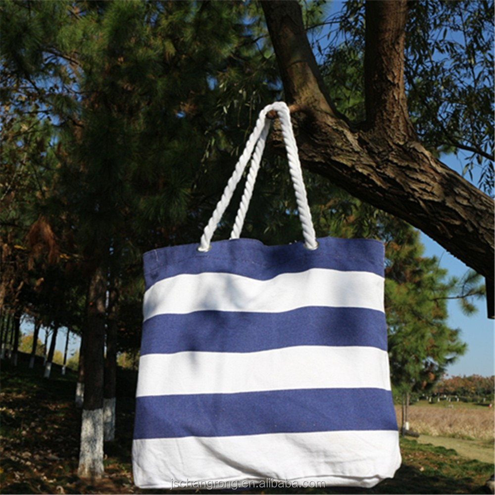 canvas tote bag with rope handle desinger handbag