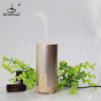 USB portable electric ultrasonic aroma oil air humidifier purifier diffuser for car use