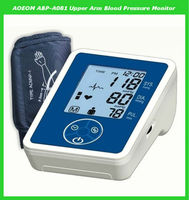 Lcd dispaly arm blood pressure monitor with 199 groups memory