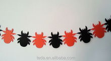 Halloween party decorative outdoor spider bunting