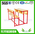 SF-37D High Quality School Furniture Double Desk and Chair Classroom Student Table